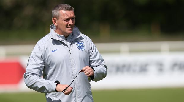 England Under-21 manager Aidy Boothroyd has named his Euro 2019 squad. (Barrington Coombs/PA)