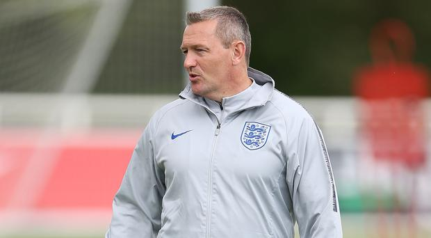 England Under 21 manager Aidy Boothroyd signed a new deal on Friday. (Barrington Coombs/PA)