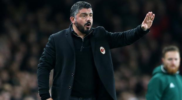 Gennaro Gattuso has left his role at AC Milan manager.