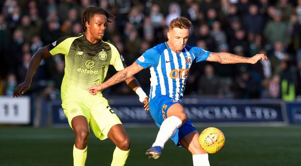 Kilmarnock's Eamonn Brophy has won a first Scotland call-up (Ian Rutherford/PA)