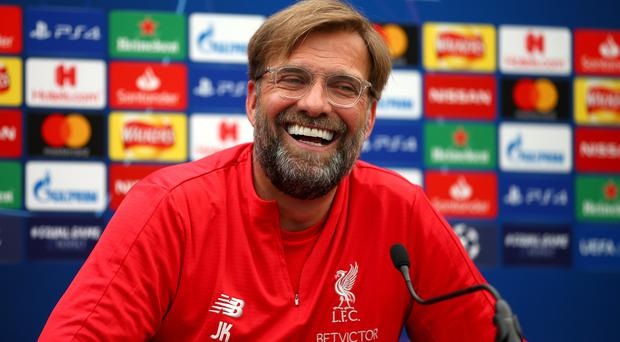 Liverpool manager Jurgen Klopp will be hoping he will be all smiles after this year's Champions League final. (Dave Thompson/PA)