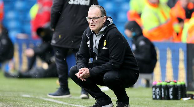Marcelo Bielsa is revered by Leeds fans after his first season in charge (Richard Sellers/PA)