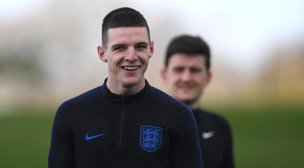Declan Rice says there are similarities between England and Holland (Joe Giddens/PA)