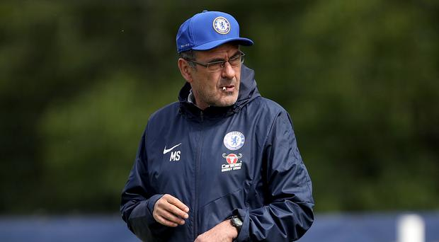 Maurizio Sarri pledged to ignore rumours linking him with a summer move to Juventus (Tim Goode/PA)