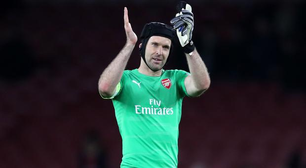 Arsenal goalkeeper Petr Cech will bring the curtain down on his illustrious career this summer (Nick Potts/PA)