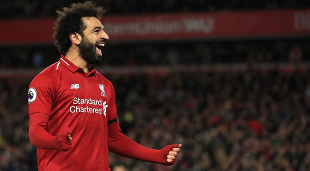 Mohamed Salah will be a key player for Liverpool in the Champions League final (Peter Byrne/PA)