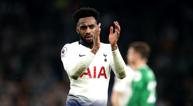 Danny Rose is part of the Tottenham squad that has reached the Champions League final (John Walton/PA)