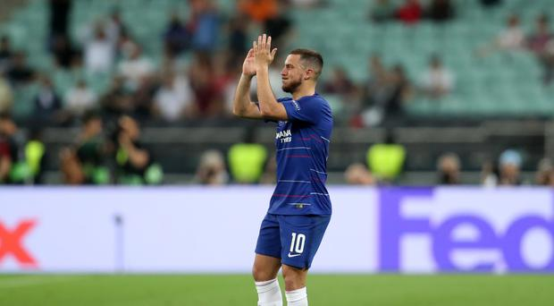 Hazard starred on what appears to be his Chelsea farewell (Bradley Collyer/PA)