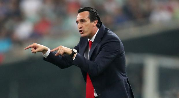 Unai Emery believes Arsenal need to strengthen to compete (Bradley Collyer/PA)