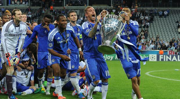 Chelsea won the Champions League in 2012 (Owen Humphreys/PA)