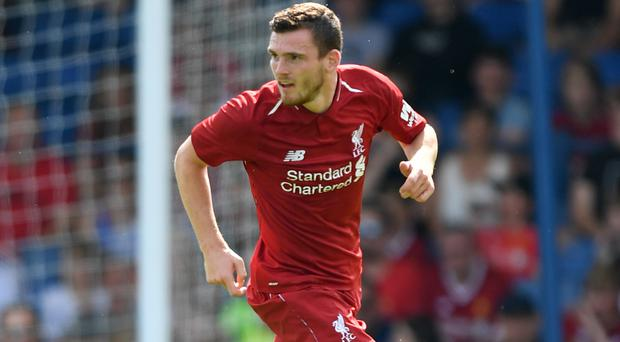 Andy Robertson is focused on ending Liverpool's trophy drought (Anthony Devlin/PA)