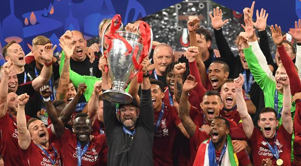 Liverpool manager Jurgen Klopp predicts more trophies will follow after their Champions League triumph (Joe Giddens/PA)