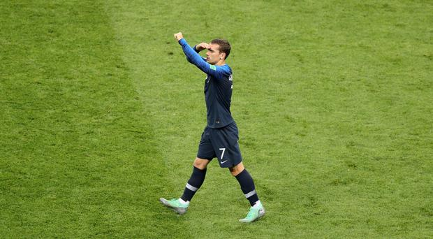 Antoine Griezmann scored for France (Aaron Chown/PA)