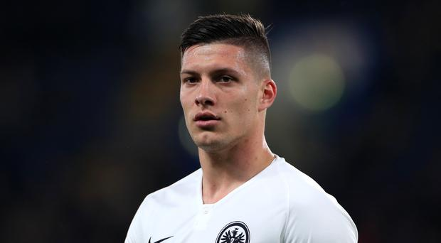 Luka Jovic has agreed a six-year deal with Real Madrid (Mike Egerton/PA)