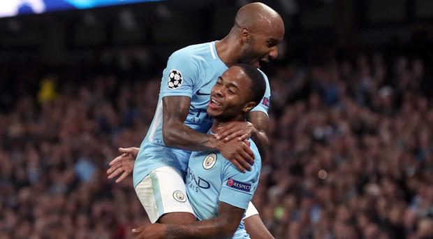 Fabian Delph has praised England and Manchester City team-mate Raheem Sterling (Martin Rickett/PA)