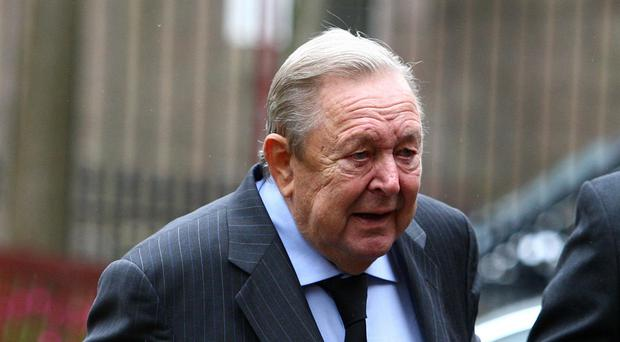 Lennart Johansson has died aged 89 (Andrew Milligan/PA)