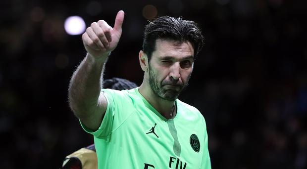 Gianluigi Buffon is to leave Paris St Germain after one season. (Martin Rickett/PA)