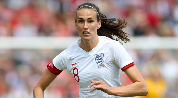 Jill Scott was called on England to remain focused (Barrington Coombs/PA)