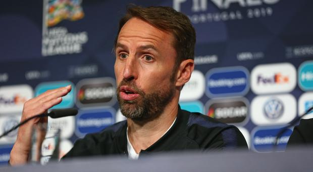 Gareth Southgate has refused to confirm if Harry Kane will play against Holland (UEFA via Getty Images)