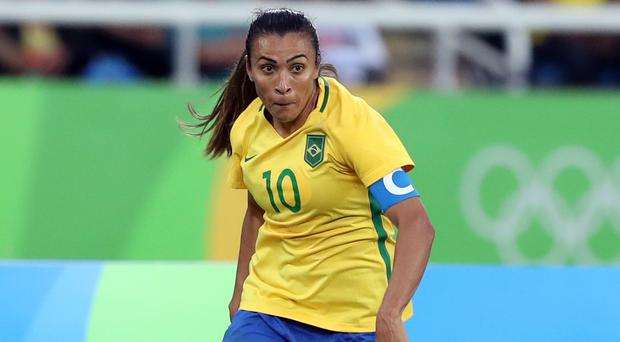 Brazil's Marta is among the players to watch in France (Martin Rickett/PA)