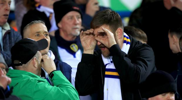 Leeds fans tried to make light of the 'spygate' furore but it cost the club £200,000 and tarnished Marcelo Bielsa's reputation (Simon Cooper/PA)