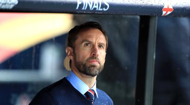 Gareth Southgate will not shy away from England's way of playing. (Mike Egerton/PA)