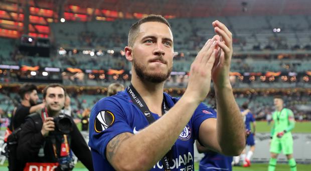 Eden Hazard has asked Chelsea fans to accept his move to Real Madrid (Bradley Collyer/PA)