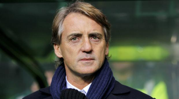 Roberto Mancini guided Italy to victory in Greece (Richard Sellers/PA)