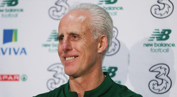 Republic of Ireland manager Mick McCarthy is hoping to round off the first phase of Euro 2020 qualification with victory over Gibraltar (Niall Carson/PA)