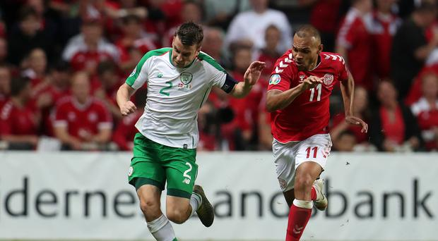 Republic of Ireland skipper Seamus Coleman (left) is taking nothing for granted against Gibraltar (Bradley Collyer/PA)