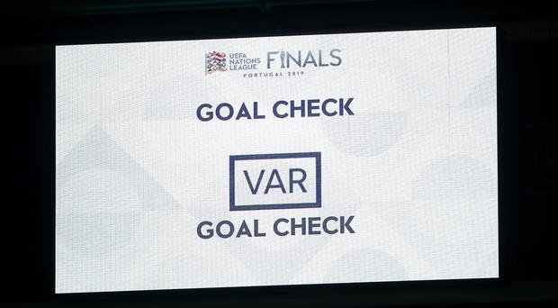 England experienced the highs and lows of VAR on Sunday (Tim Goode/PA)