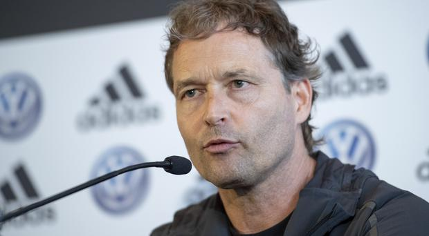 Marcus Sorg expects Germany to maintain their 100 per cent start (Marius Becker/AP)