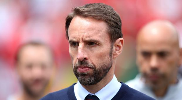 Gareth Southgate wants England to keep increase their standards in the hunt for glory (Tim Goode/PA)