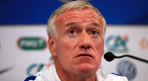 Didier Deschamps praised his France players after they bounced back to beat Andorra (John Walton/PA)