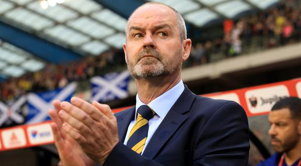 Scotland manager Steve Clarke felt his side missed a great chance to set up a tense finish against Belgium (Bradley Collyer/PA).