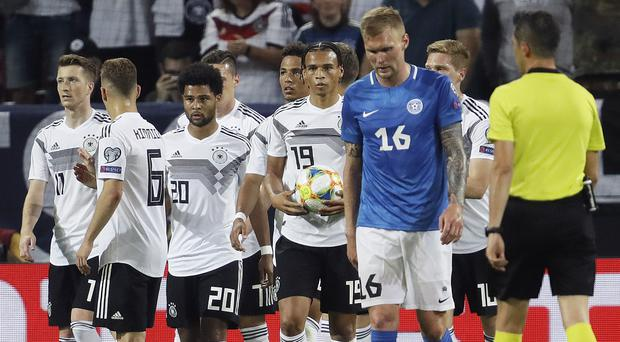 Germany produced an impressive display to brush aside Estonia in Mainz (Michael Probst/AP)