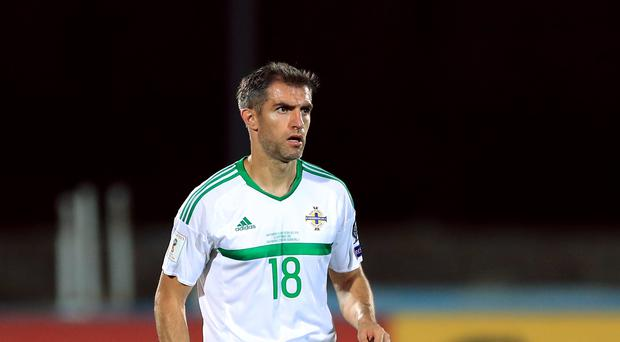 Former Northern Ireland Aaron Hughes has retired at the age of 39 (Tim Goode/PA)