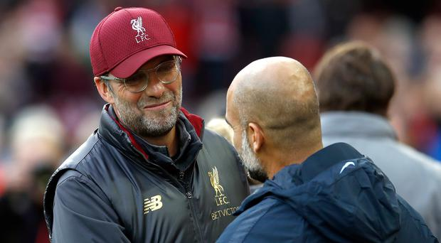 Manchester City and Liverpool have straightforward openers on paper (Martin Rickett/PA)
