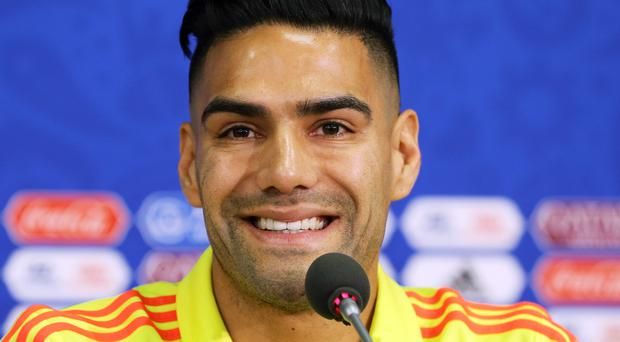Colombia's Radamel Falcao hopes his team can beat Argentina (PA)