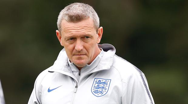 England Under-21 manager Aidy Boothroyd will lead the Young Lions to a second European Championships. (Martin Rickett/PA)