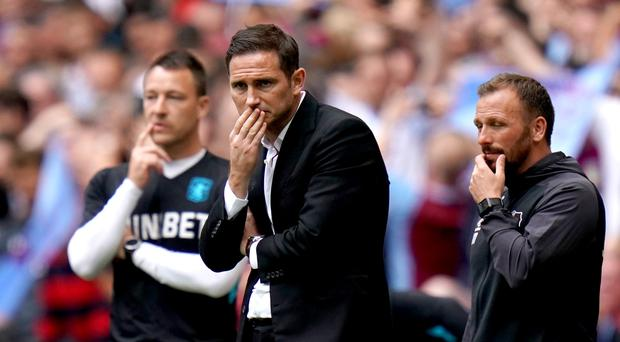 Derby, currently managed by Frank Lampard, appear to be facing a tough start to the season (John Walton/PA)