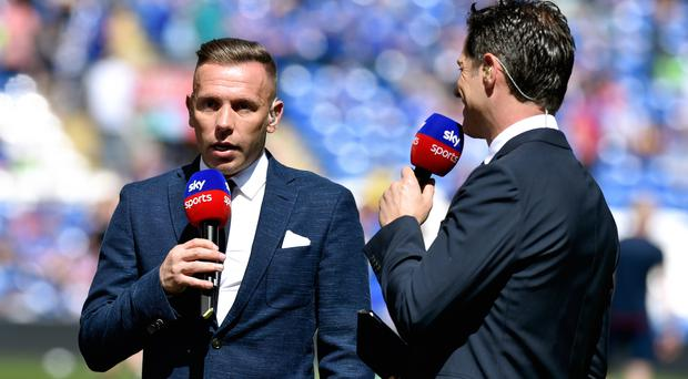 Craig Bellamy, left, has joined Anderlecht as their Under-21s coach (Simon Galloway/PA)