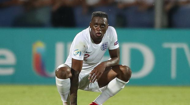 Aaron Wan-Bissaka scored a stoppage time own goal in Tuesday's Euro 2019 defeat to France (Nick Potts/PA)