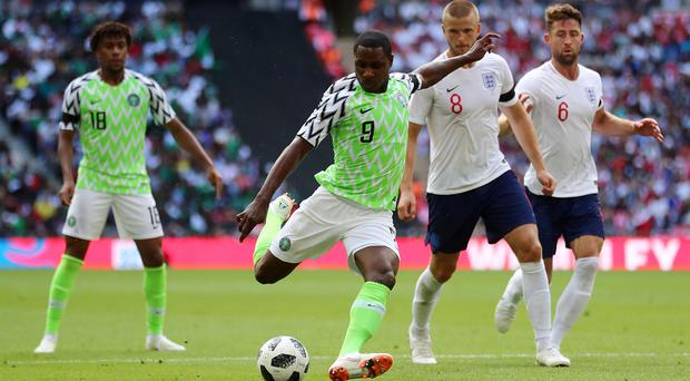 Nigeria's Odion Ighalo is targeting success at the Africa Cup of Nations. (Tim Goode/PA)