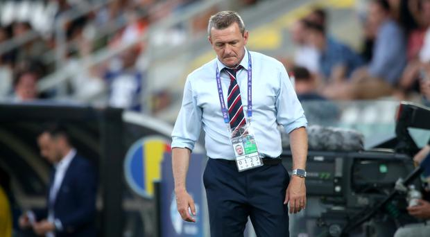 England Under-21 head coach Aidy Boothroyd will not quit despite their Euro 2019 exit (Nick Potts/PA)