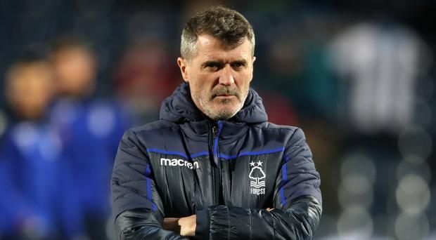 Roy Keane has left his post as assistant boss at Nottingham Forest (Nick Potts/PA)