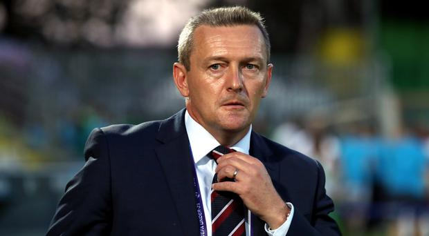 Aidy Boothroyd's side are out of the tournament (Nick Potts/PA)