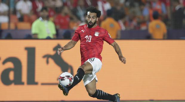 Mohamed Salah's Egypt are next in action against Dr Congo (Hassan Ammar/AP)