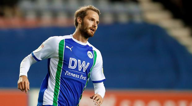 Nick Powell joins Stoke after leaving Wigan. (Martin Rickett/PA)