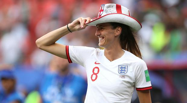 England's Jill Scott expects a tough test from Norway (Richard Sellers/PA)